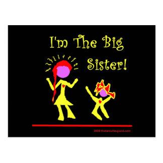 ¡Soy una hermana grande! Postales