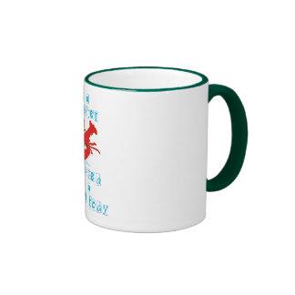 Soy una langosta tazas de café