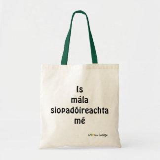 Soy una lengua de Gaeilge del irlandés del bolso Bolsa Tela Barata