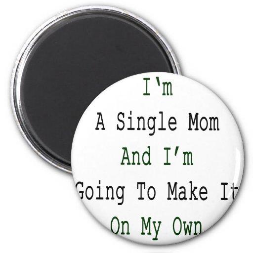 Soy una madre soltera y voy a hacerlo en mi Ow Iman