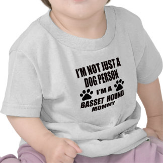 Soy una mamá de Basset Hound Camisetas