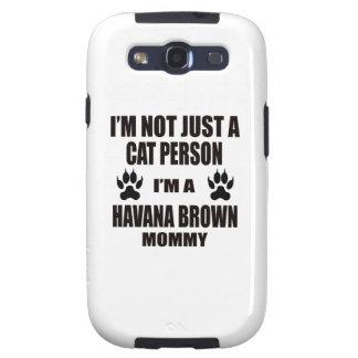 Soy una mamá de La Habana Brown Samsung Galaxy SIII Funda