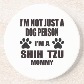 Soy una mamá de Shih Tzu Posavaso Para Bebida