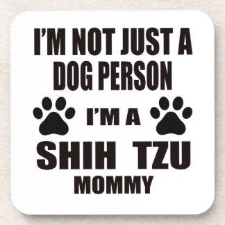 Soy una mamá de Shih Tzu Posavasos De Bebida