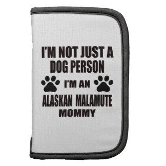 Soy una mamá del Malamute de Alaska Planificadores