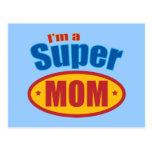 Soy una mamá estupenda postales