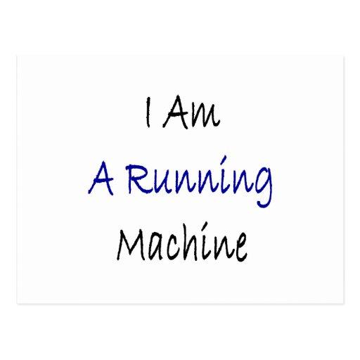 Soy una máquina corriente tarjetas postales