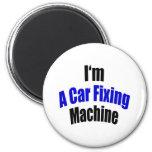 Soy una máquina de la fijación del coche imán de frigorifico