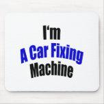 Soy una máquina de la fijación del coche alfombrillas de ratón
