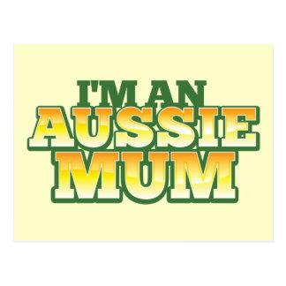 ¡Soy una MOMIA AUSTRALIANA! Postal