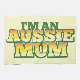 ¡Soy una MOMIA AUSTRALIANA! Toallas De Cocina