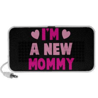 ¡Soy una NUEVA MAMÁ! Laptop Altavoz