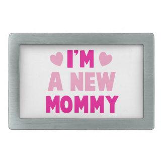 ¡Soy una NUEVA MAMÁ! Hebilla Cinturon Rectangular