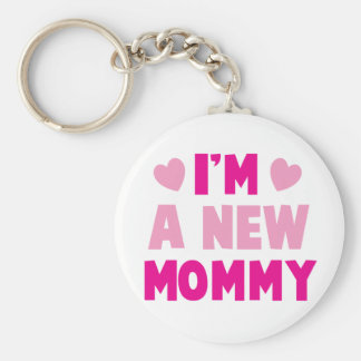 ¡Soy una NUEVA MAMÁ! Llavero