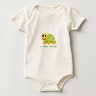 """""""Soy una pequeña tortuga feliz - modifiqúela para Body Para Bebé"""