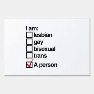 Soy una persona de LGBT Cartel