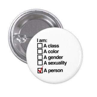 Soy una persona (la clase) pin redondo de 1 pulgada