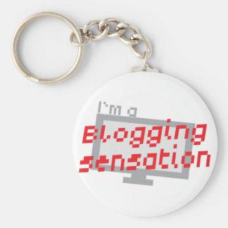 Soy una SENSACIÓN blogging con el SCR de la calcul Llavero Redondo Tipo Pin