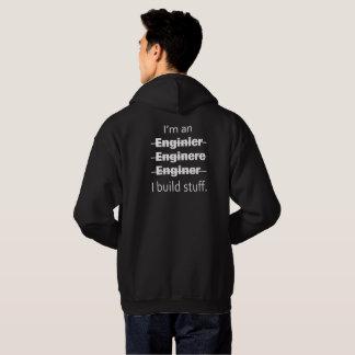 Soy una sudadera con capucha del ingeniero