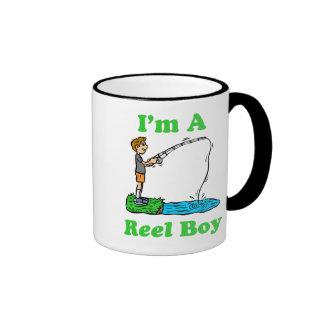Soy una taza del muchacho del carrete
