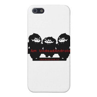 Soy UndeadAndroid iPhone 5 Cárcasas