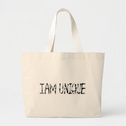 Soy único bolsa de mano