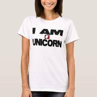Soy unicornio playera