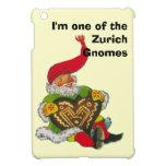 Soy uno de los gnomos de Zurich iPad Mini Fundas