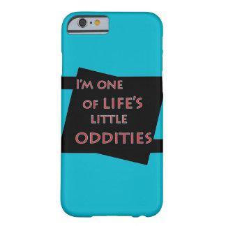 Soy uno del teléfono celular divertido de las funda de iPhone 6 barely there