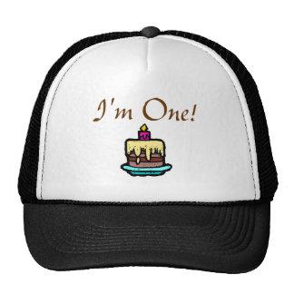 ¡Soy uno! Gorras