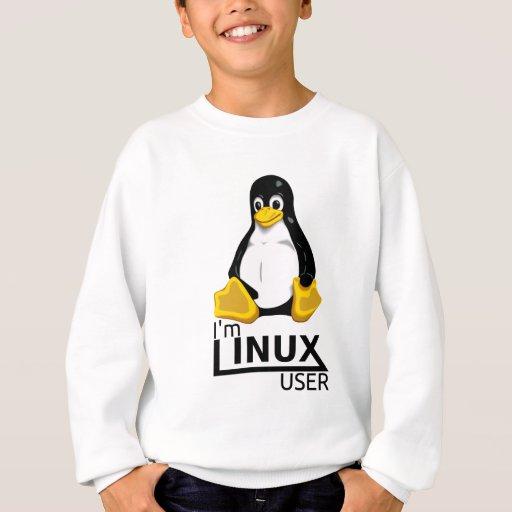 Soy usuario de Linux Sudadera