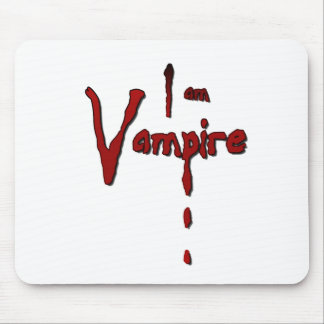 Soy vampiro mouse pads