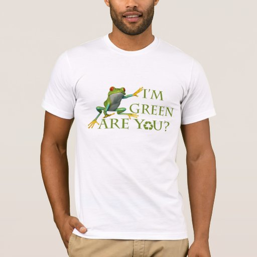 ¿Soy verde, es usted? Playera
