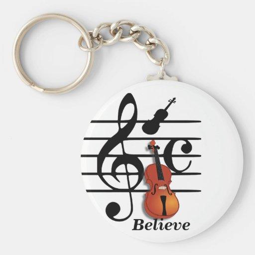 Soy Violin_ Llavero Personalizado