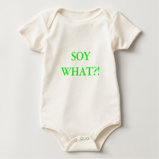 SOY WHAT?! BABY BODYSUIT