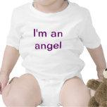 Soy y ángel traje de bebé
