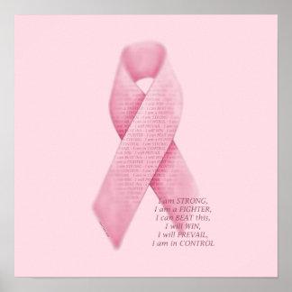 SOY, YO PUEDO, YO, impresión rosada de la cinta de Posters
