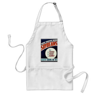 Soybeans Adult Apron