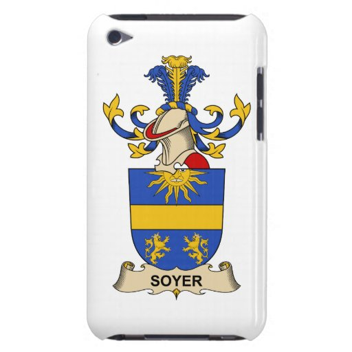 Soyer Family Crest Case-Mate iPod Touch Case
