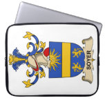 Soyer Family Crest Computer Sleeve
