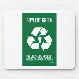 Soylent Mousepad verde Tapete De Ratones
