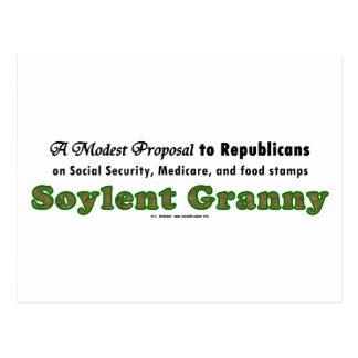 SoylentGranny Postcard