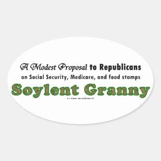 SoylentGranny Sticker