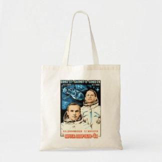 Soyuz 27 tote bag
