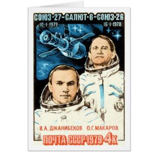 Soyuz 27 card