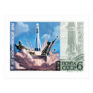 Soyuz Rocket Tarjeta Postal