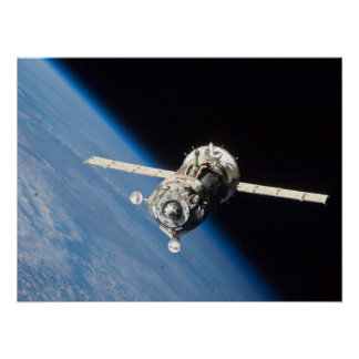 Soyuz Space Craft Poster
