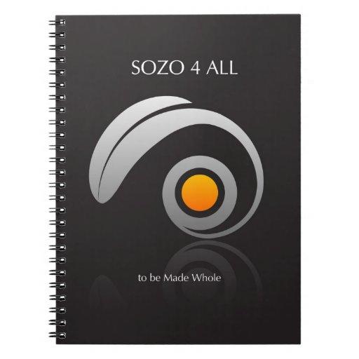 Sozo Prayer Journal - Christian Healing Spiral Notebooks