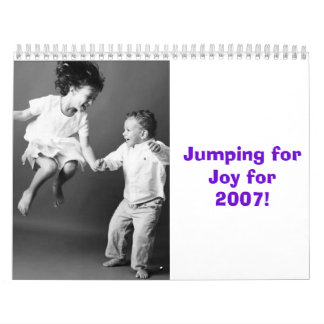SP32-29, Jumping for Joy for 2007! Wall Calendar