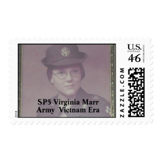 SP5 Virginia Marr Postage Stamps